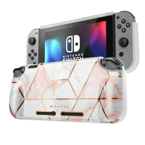 For Nintendo Switch Case Mumba Girl Power Soft TPU Grip Cover For Nintendo Switch Console with Shock-Absorption & Anti-Scratch(China)