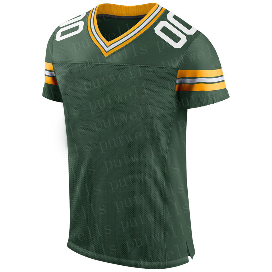 Men Color 2019 American Football Green Bay Sport Fans Wear Aaron Rodgers Reggie White Davante Adams Brett Favre Matthews Jerseys