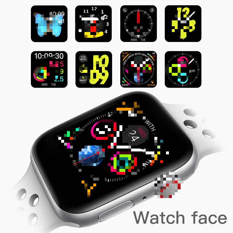 2019 IWO 10 Bluetooth Smart Watch Series 4 1:1 IWO 8 Plus IWO 9 Updated GPS Tracker Sports Smartwatch For Apple iPhone Android