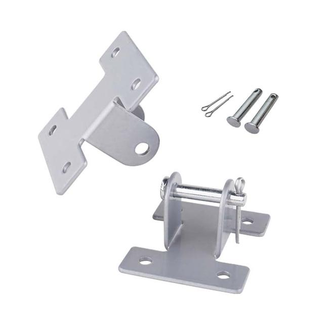 A pair of linear actuator bracket motor portable mounting brackets for linear actuator support