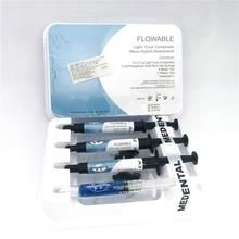 1set light-curable flowable resin Fluid Light Curing Resin Composite Resin Oral Dental Materials