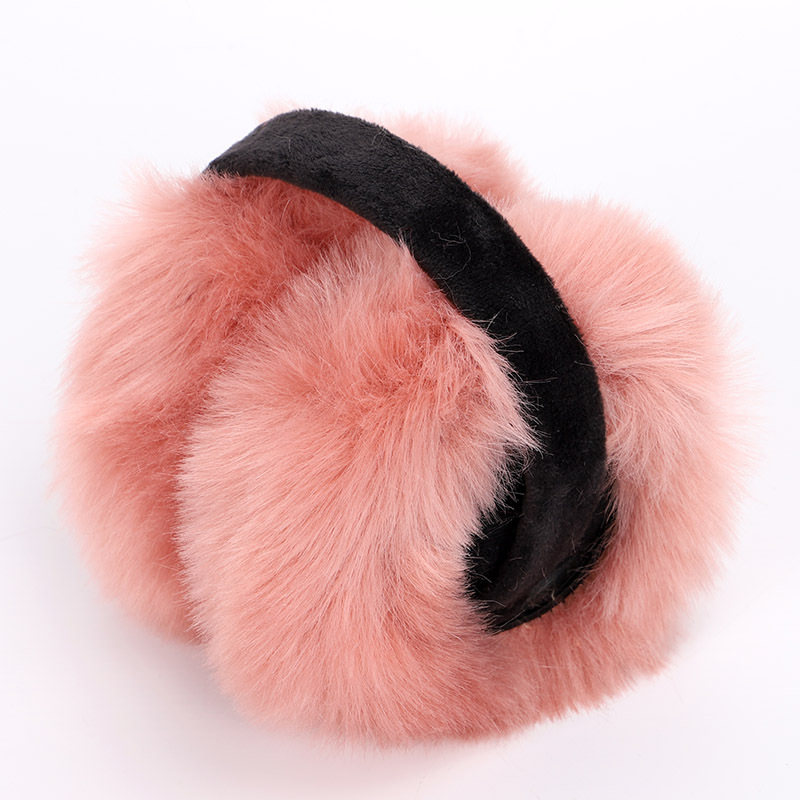 Winter Earmuffs New Ladies Ear Muffs Solid Color Fashion Ear Warmer Comfortable Skiing Sports Earmuff Cute Fluff Unisex Female