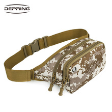 Outdoor Military Molle Waist Bag Tactical Waist Pack Shoulder Bag Multi-pocket Camping Hiking Pouch Belt Wallet Pouch Purse цена 2017