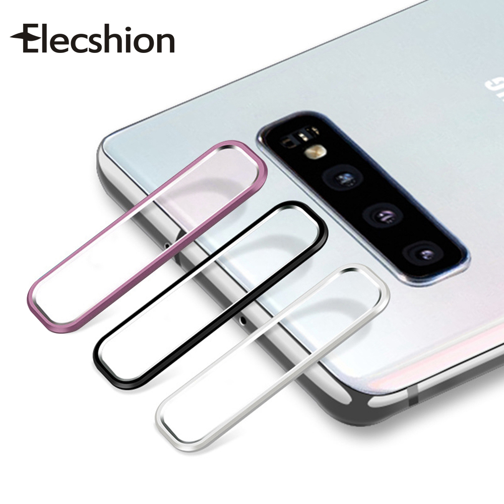 For Samsung Note 10 Plus Camera Lens Film Tempered Glass For Samsung Note 10 Camera Screen Protector Glass + Aluminum Metal Ring