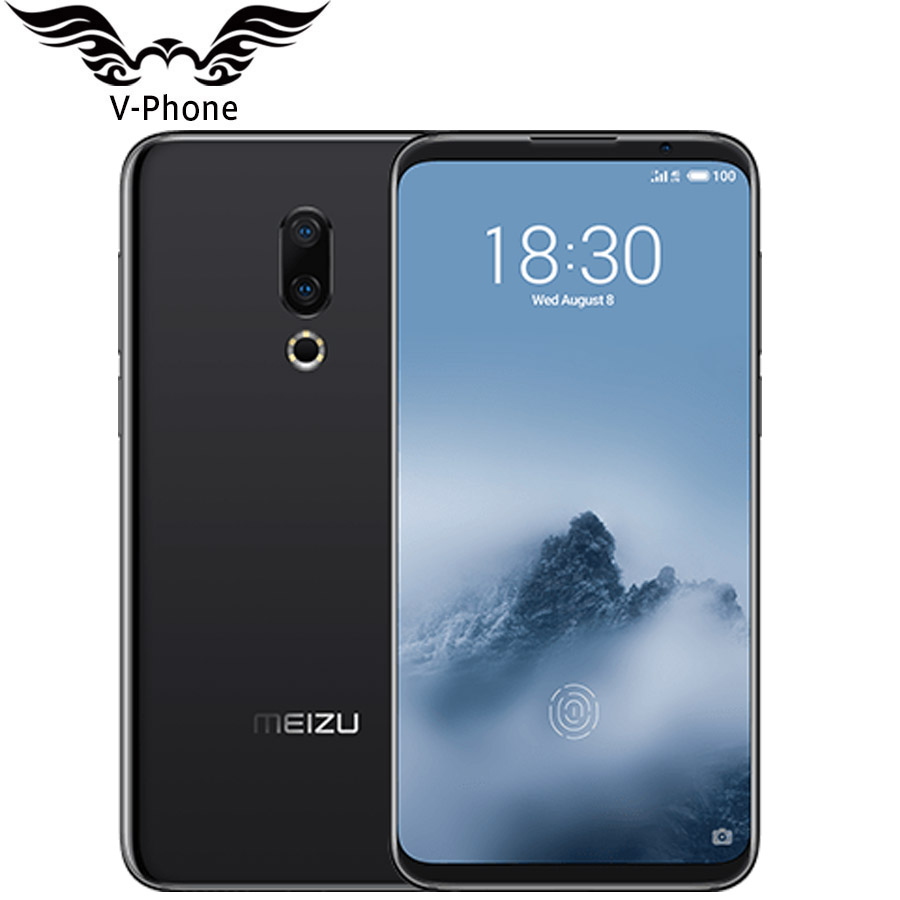 MEIZU 16th 6GB 64GB Global Version Mobile Phone 4G LTE 6 Snapdragon 845 Octa Core Front