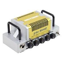 Hotone siva boogie limpo tom guitarra amp cabeça 5 watts classe ab amplificador com táxi sim telefones/linha de saída NLA-10