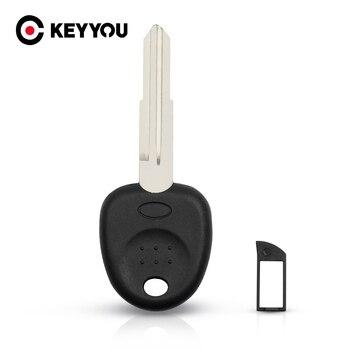 KEYYOU 15x llave transpondedor para Hyundai acento Coupe Getz Elantra Excel Getz Lavita TiburonTucson Verna llave de coche cuchilla izquierda