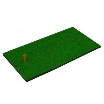 цена на Outdoor Golf Training Aids Indoor Backyard Golf Mat Hitting Pad Practice Grass Mat