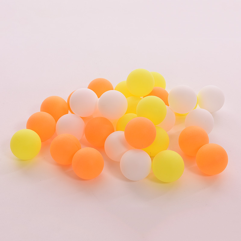 GUOMUZI 10 PCS 38MM Ping Pong Ball Beginner Light Bomb Table Tennis Multi-ball Training Competition Game Washable Ball