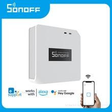 SONOFF RF BridgeR2 WiFi 433 MHz Wireless Controller, eWelink APP Remote Control Smart Home Automation Work for Google Home,Alexa