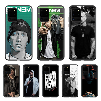 Eminem 8 Mile Rap God Phone Case cover hull For SamSung Galaxy S 5 6 7 8 9 10 20 Edge Plus E Lite Ultra black hoesjes silicone image