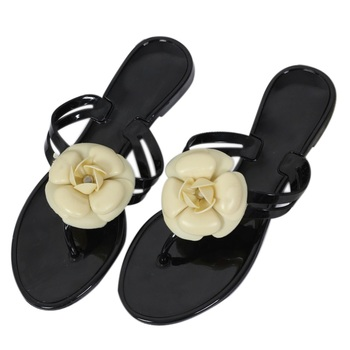 цена на Summer Women Sandals Flip Flops Outside Women Slippers Female Beach Shoes with Floral Ladies jelly shoes sandalias mujer 2020