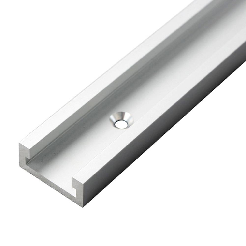 1 Set Mijter-Track-Slot-T-Track Slot En 1000mm 6 Holes  Mijter Aluminium Voor Houtbewerking Tool  Handleiding For Woodwork