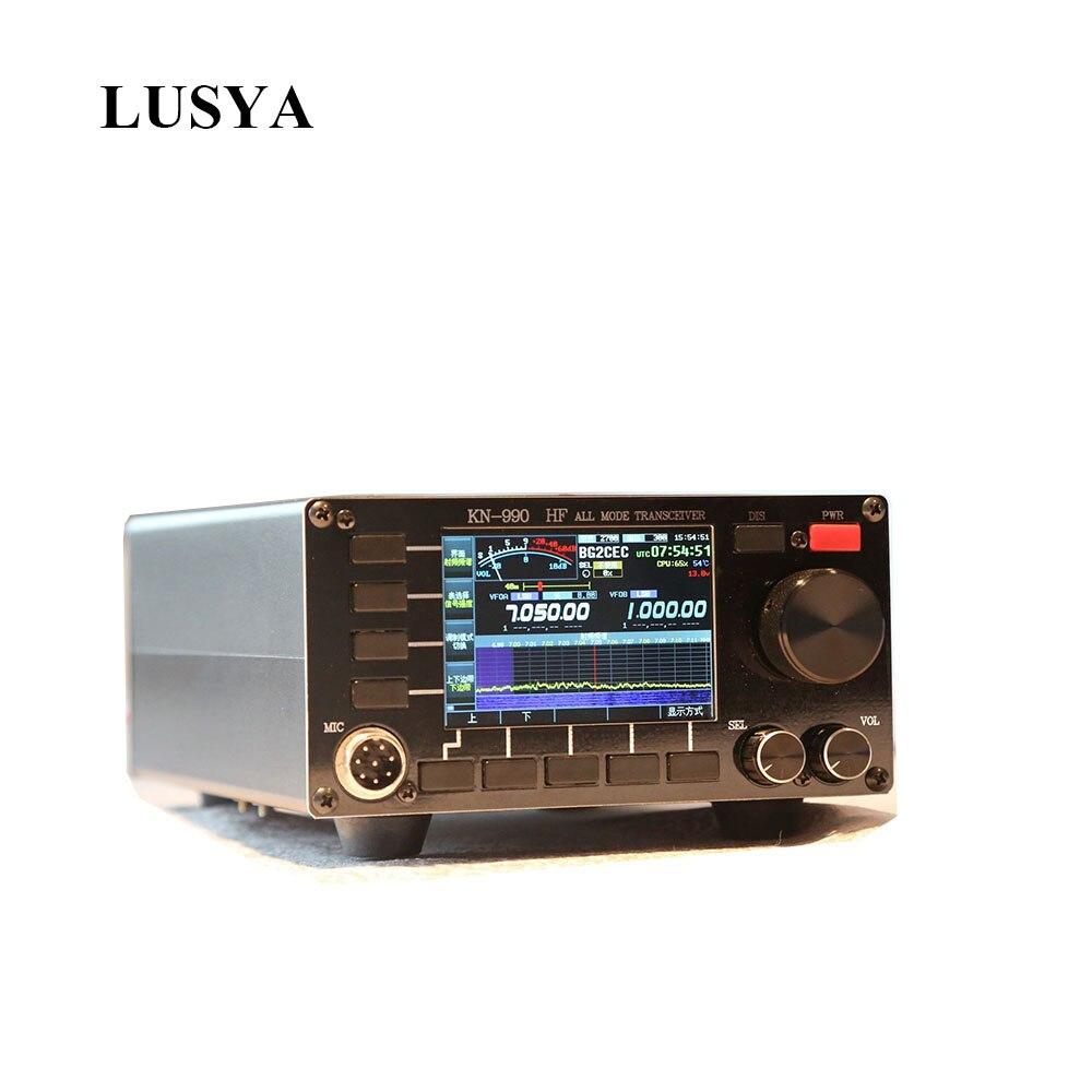 LUSYA KN990 Radio de onda corta 0,1 ~ 30MHz 15W Gama Completa transceptor con Digital si DSP SSB/CW/AM/FM/DIGITAL T0315