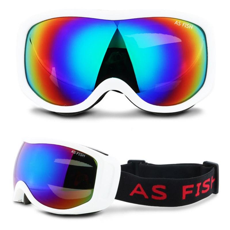 Ski Goggles Anti-Fog  Cool UV Protection Snowboard Goggles For Men Women