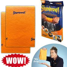 Drying-Towel Sham Cleaning-Wiping-Rags Kitchen-Tool Non-Abrasive Wow Washing Super-Absorbent
