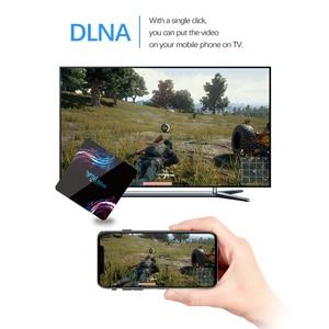 Image 5 - 2020 جديد واي فاي 2.4/5G مربع التلفزيون الذكية أندرويد 9.0 4GB 32GB 64GB الترا HD 6K H.265 يوتيوب مشغل الوسائط صندوق التلفزيون أندرويد TV فك التشفيرAllwinner H6 ، رباعي النواة ARM Cortex A53 ، حتى 1.5 جيجا هرتز