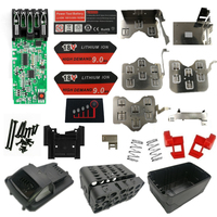 M18 bateria de lítio caso plástico proteção de carregamento pcb placa circuito para milwaukee 18 v 3.0ah 9.0ah bateria caixa vender habitação|Acessórios para ferramenta elétrica| |  -