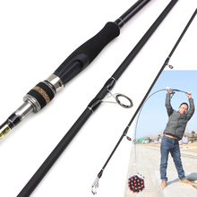 2.7M Spinning Casting Fishing Rod MH/H power Lure Weight 10-45g carbon spinning Trout Rod 3 Section fishing pole