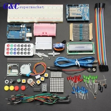 High Quality UNO R3 Basic Anlasser Learning Kit No Battery Version For Arduino UNO diy kit