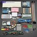 Uno r3 kit de aprendizagem básica sem versão da bateria para arduino uno kit diy saco do produto eletrônico alta qualidade