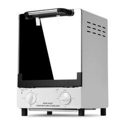 Caja esterilizadora de alta temperatura de 10 l y 1000W para Salón de Arte de uñas, herramienta esterilizadora portátil de 10 l, herramienta de manicura para uñas, esterilizador de calor en seco