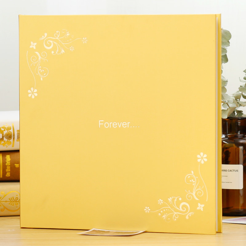 Plus Size 18 Inch 12 Inch DIY Photo Album Paste Family Baby Travel Wedding Foto Memory Book Home Decor Birthday Souvenir Gift image