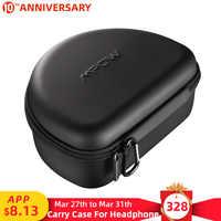 Mpow Kopfhörer Tasche Für H5 H10 059 H7 036 Drahtlose Kopfhörer Bargeld Kabel Karten Schlüssel EVA + PU + Velet Tragbare Taschen