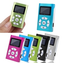 цена на Mini MP3 Player LCD Screen Metal case Music Media MP3 Support 32GB Micro SD TF Card USB Long time music player