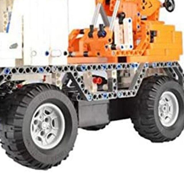 FBIL-2.4Ghz télécommande bloc de Construction Construction camion modèle grue brique empilage blocs grue jouets pour enfants