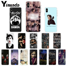 Le Vampire Diaries Stefan Damon Salvatore housse de téléphone coque pour Apple iPhone 8 7 6 6S Plus X XS MAX 5 5S SE XR 11 pro max(China)