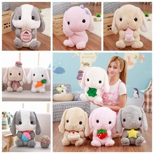 Plush Poys Japan Soft Cute Lop Ear Rabbit Doll Big Pillow Rag Nightmaren Before Christmas Elfe Elmoo