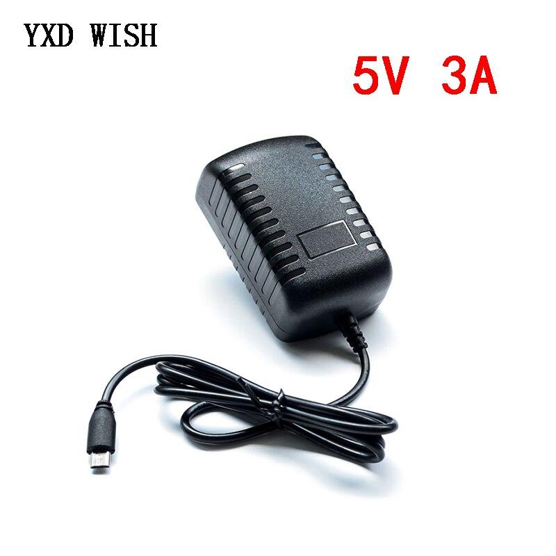 5 V 3A Raspberry PI 3 Modell B + plus Power Adapter USB Ladegerät Netzteil Power Quelle 5 V Volt 3A USB Port Adapter Buchse