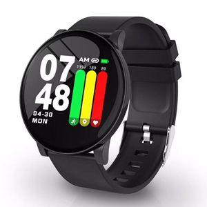 Image 1 - Smart Uhr Für iOS Android Bluetooth Sport Smartwatch Männer Frauen Wasserdichte Armband Herz Rate Monitor Blutdruck