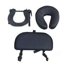 U-образный роскошный массажный набор на платформе, регулируемый подголовник и подушка для лица, массажное оборудование для семейного использования, массажный стол/кровать