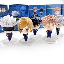5cm q versão figura de ação do pvc modle brinquedos presentes de aniversário figura de ação quente anime jujutsu kaisen gojo satoru kugisaki