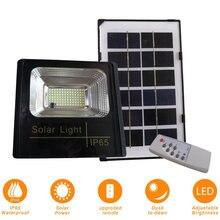 25 Вт солнечный светильник с дистанционным управлением наружный