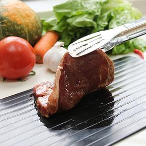 Image 5 - C fast taca do rozmrażania odwilż gospodarstwo domowe mrożone jedzenie mięso owoce szybkie rozmrażanie płyta odszranianie przyrząd kuchenny narzędzie siekanie B