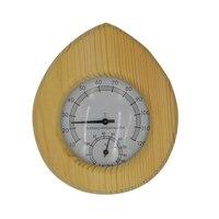 Сауна комната деревянный термометр гигрометр 2 в 1 гигротермограф конфеты жарки еда столовая температура бытовой