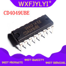 10 pces cd4049ube dip16 cd4049 dip cd4049be dip-16 ic novo e original