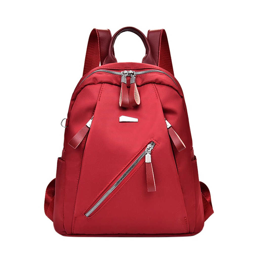 Aelicy Woman Fashion Leather Backpack Female Style Zipper School Bags For Teenage Girl Large Capacity Travel Bag 1023