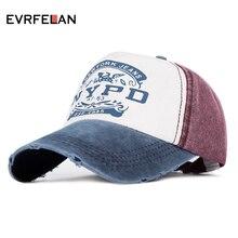 Evrfelan, модная женская бейсболка для мужчин, повседневная спортивная бейсболка, бейсболка, Снэпбэк кепки, унисекс, с буквенным принтом, gorra casquette