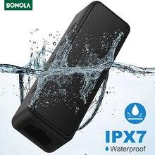 Bonola – haut parleur Portable sans fil, Bluetooth 5.0, son stéréo plus fort, TWS, 20W, pleine fréquence, étanche IPX7, micro TF AUX