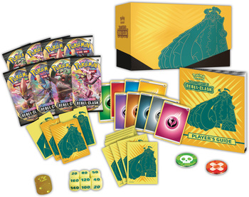 Pokemon TCG: Sword & Shield-Rebel Clash Elite Trainer Box 2