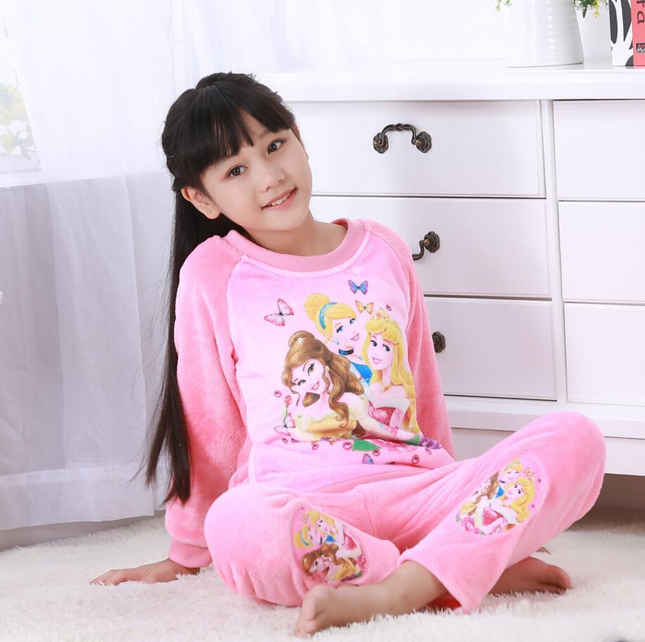 Новинка года; зимняя детская флисовая Пижама; теплая фланелевая одежда для сна; домашняя одежда для девочек из кораллового флиса; детская пижама; домашняя одежда; Пижама для мальчиков - Цвет: model 20