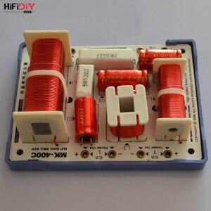 Image 4 - HIFIDIY لايف MK 400C 3 طريقة 4 وحدة مكبر الصوت (مكبر الصوت + منتصف + 2 * باس) HiFi مكبرات الصوت تردد مقسم مرشحات كروس