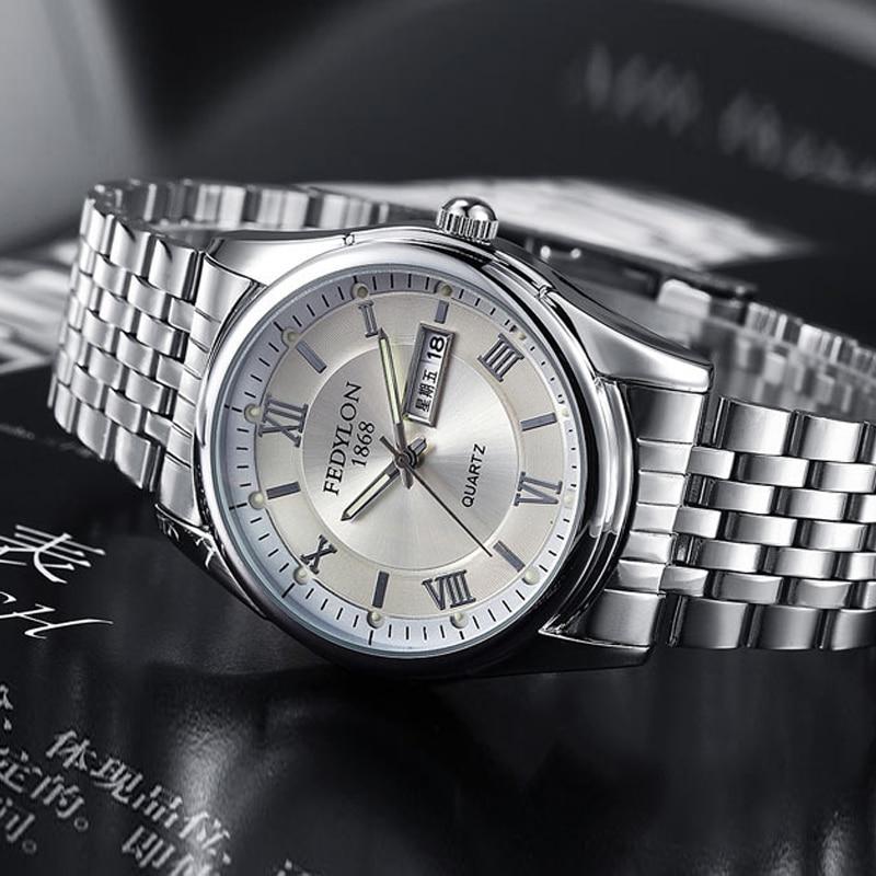 Светящиеся швейцарские мужские часы полностью автоматический