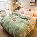 Супер мягкое одеяло с рисунком ананаса авокадо  толстый коралловый флис  лохматый мех  плюш  двухсторонние теплые одеяла для кровати