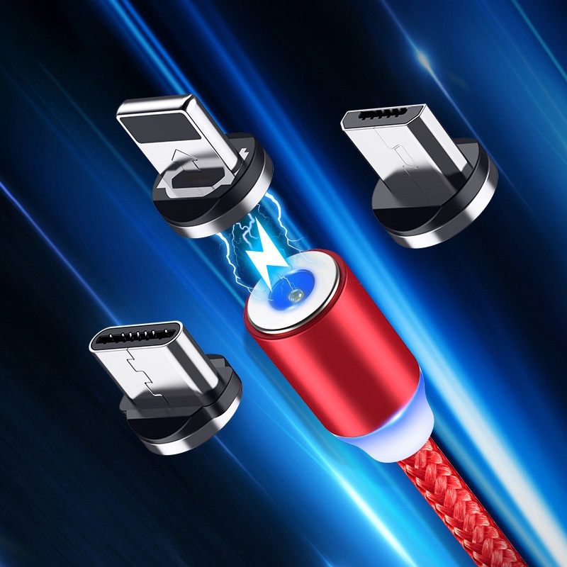 Magnetic Micro USB Type C Cable Magnetic Charge For Xiaomi Redmi Note 7 Android For Umidigi F2 Fast Charging Charger Cord