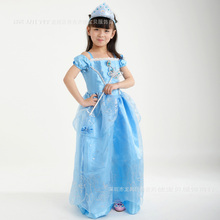 Kids Dresses for Girls Cinderella Snow White Cosplay Costume Elsa Aurora Children Princess Party Dresses Kids Christmas Fantasy цена и фото